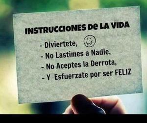 life, happy, and frases image