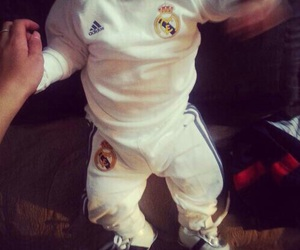 baby and real madrid image