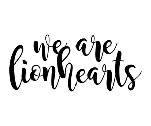 confident, quotes, and lionheart image