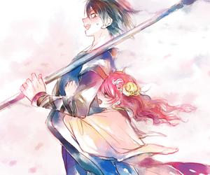 anime, hak, and yona image