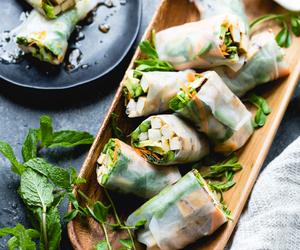food, ginger, and tofu image