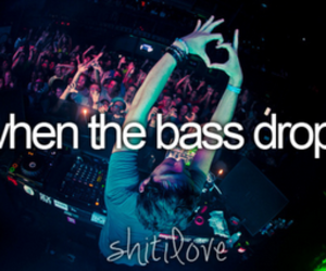 bass, shit i love, and music image