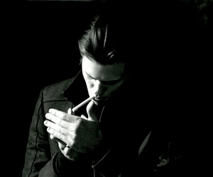 cigarette, bill skarsgård, and hemlock grove image