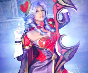 ashe, cosplay, and league of legends image