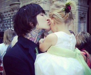 mitch lucker, suicide silence, and daughter image