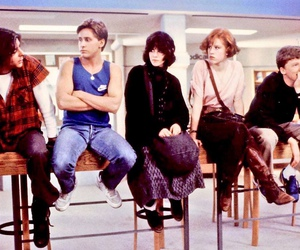 The Breakfast Club, movie, and film image