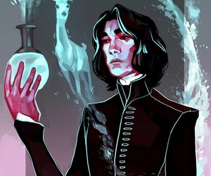 harry potter and severus snape image