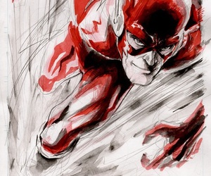 DC and the flash image