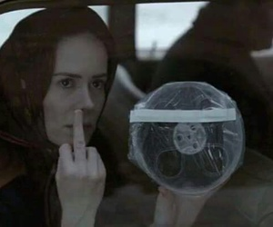 fuck you, sarah paulson, and lana winters image