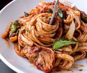 pasta and food image