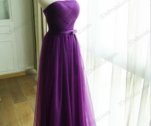 lilac, purple, and promdress image
