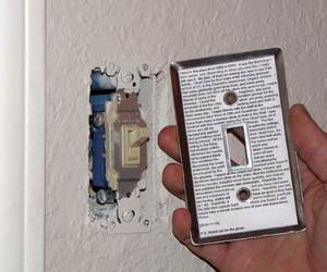 house, light switch, and time capsule image