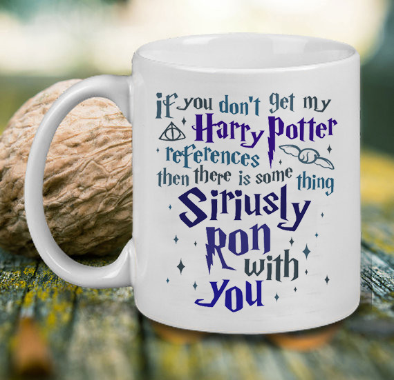 coffee mug, harry potter, and mug image