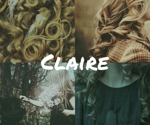 aesthetic, book, and Claire image