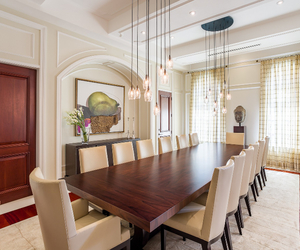 dining room, florida, and home decor image