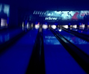 aesthetic, bowling, and bule image