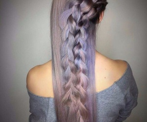 color hair, girl, and hairstyles image