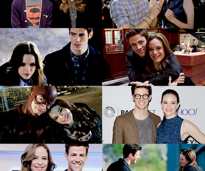 the flash, snowbarry, and granielle image