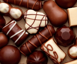 chocolate, colorful, and sweets image
