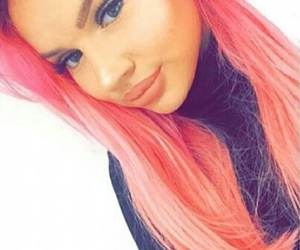 pink, newhair, and youtuber image
