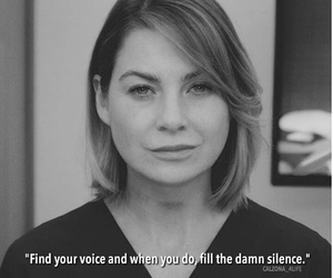 grey's anatomy, meredith grey, and grey's anatomy quotes image