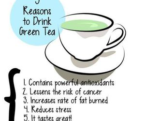 green tea, healthy, and health image
