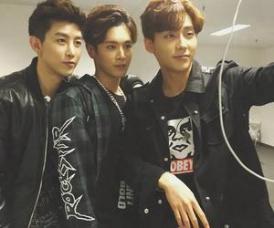 kpop, sungjoo, and yixuan image