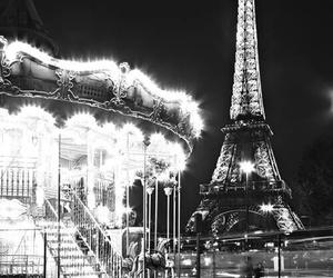 paris, beautiful, and light image