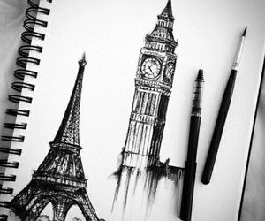 ❤ and paris and london image