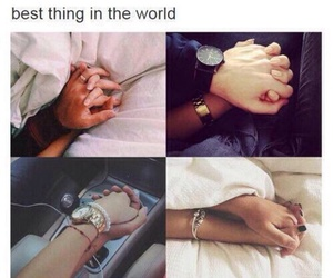 love, couple, and holding hands image