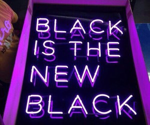 purple, black, and neon image