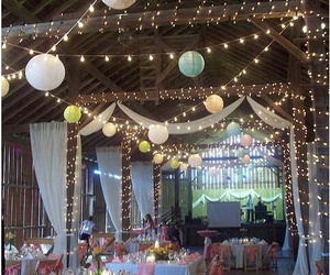 diy, lights, and party image