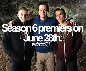 teenwolf, cody christian, and dylan o'brien image
