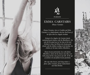 the dark artifices, emma carstairs, and shadowhunters image