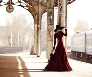 dress, girl, and classy image