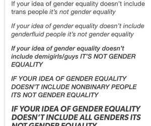 equality, feminism, and gender equality image