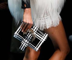 fashion, model, and Roberto Cavalli image