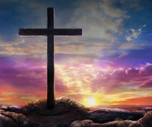 cross, good friday, and jesus image