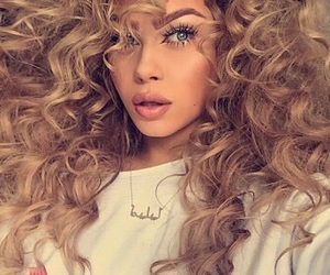 curl and hair image