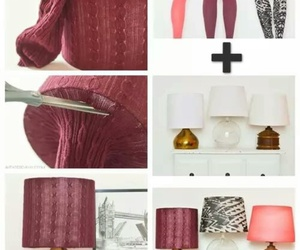 diy, lamp, and decoration image