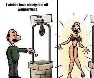 funny, body, and woman image