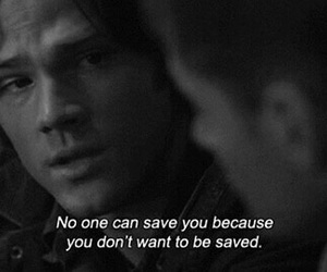 supernatural, quotes, and sam winchester image