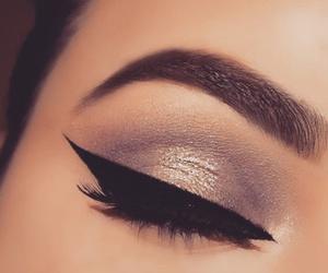eyebrow and make up image