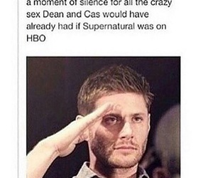 supernatural, funny, and hbo image