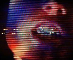 dark, futuristic, and faceless image