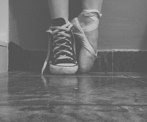 dance, ballet, and converse image