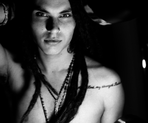 samuel larsen, dreads, and glee image