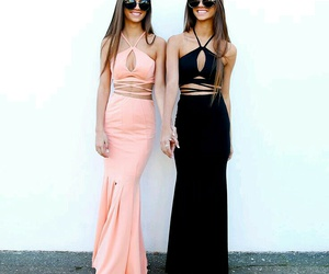 best friend, dress, and clothes image