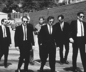 reservoir dogs, movie, and suit image