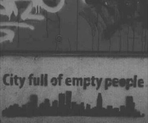 empty, city, and people image